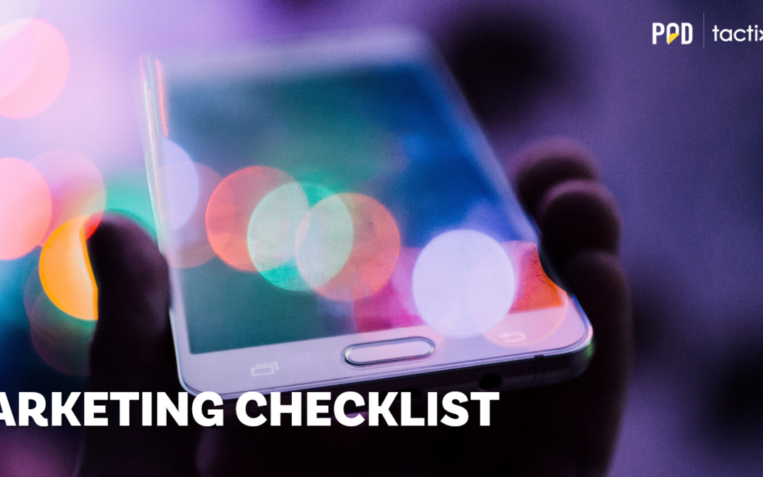 Marketing Checklist