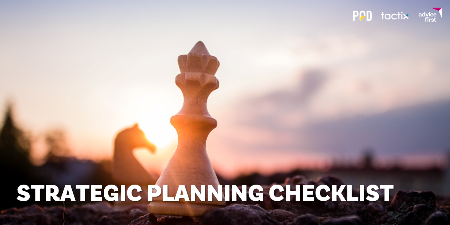 Strategic Planning Checklist